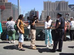 TV journalist